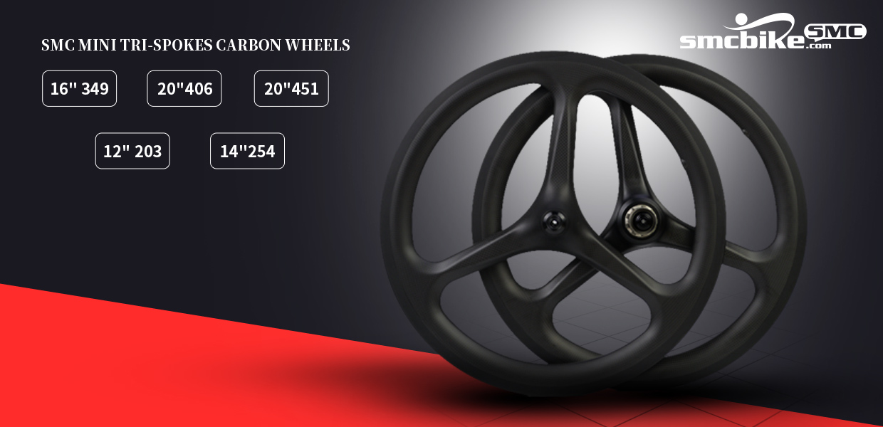 Carbon rims and wheels size in 24