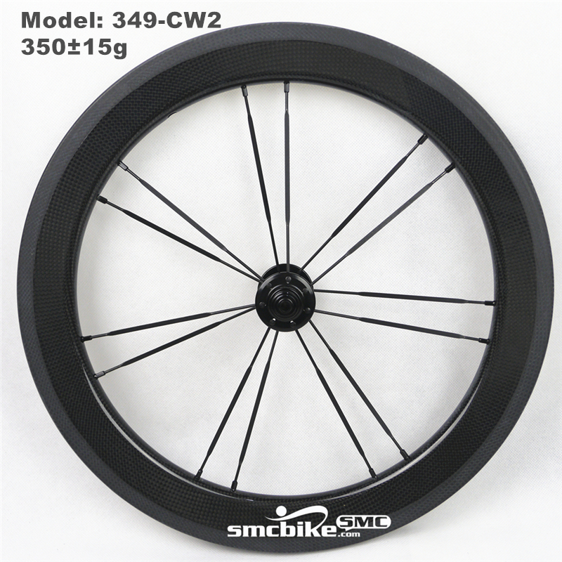 "SMC 16"" 349 Carbon Wheel for Brompton front Wheel"